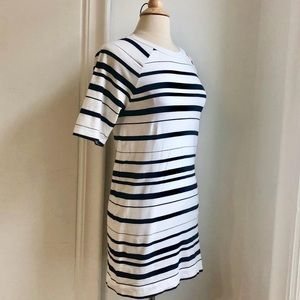 🇫🇷 French Connection striped t-shirt dress